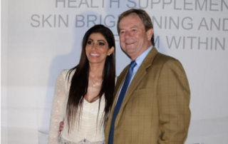 Sorisha Naidoo and Dr Alistair Clark