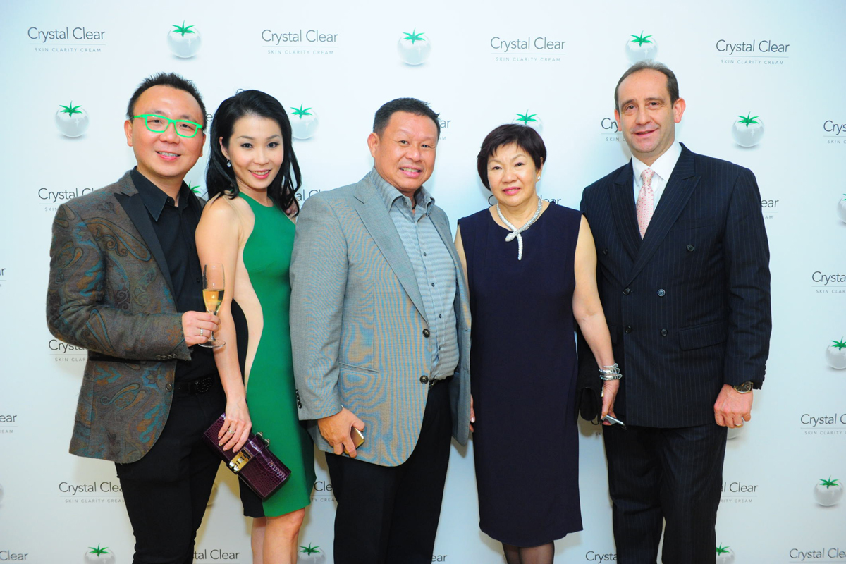Dr. K W Chan, Mrs Elaine Chan, Mr Jimmy Tay, Ms Catherine Tan & Mr Giovanni Viterale