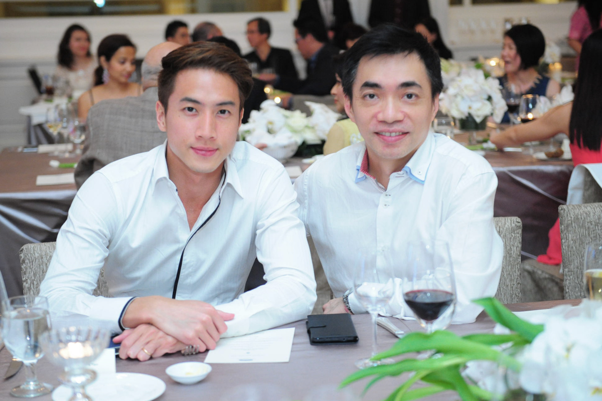 Dr. Zhang Yijun & Dr. Elias Tam