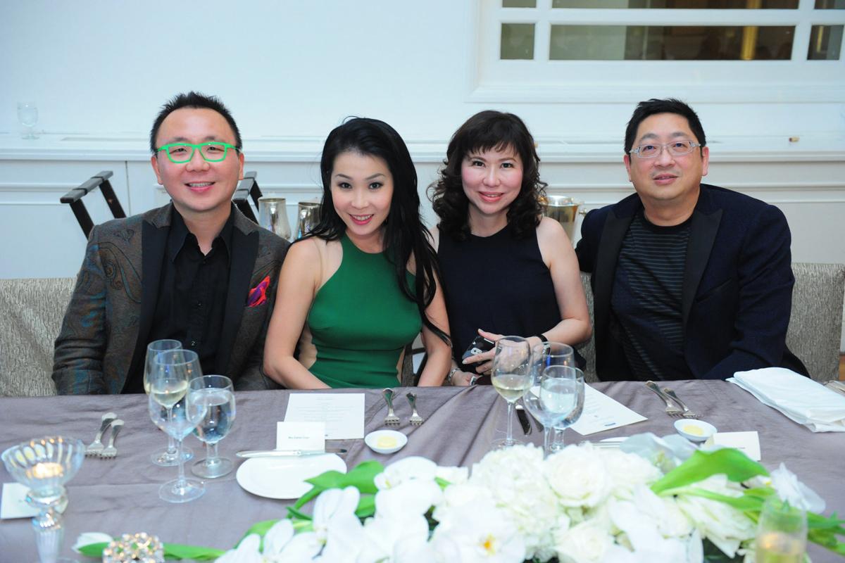 Dr. K W Chan, Mrs Elaine Chan, Mrs Raine Chew & Dr. K K Chew
