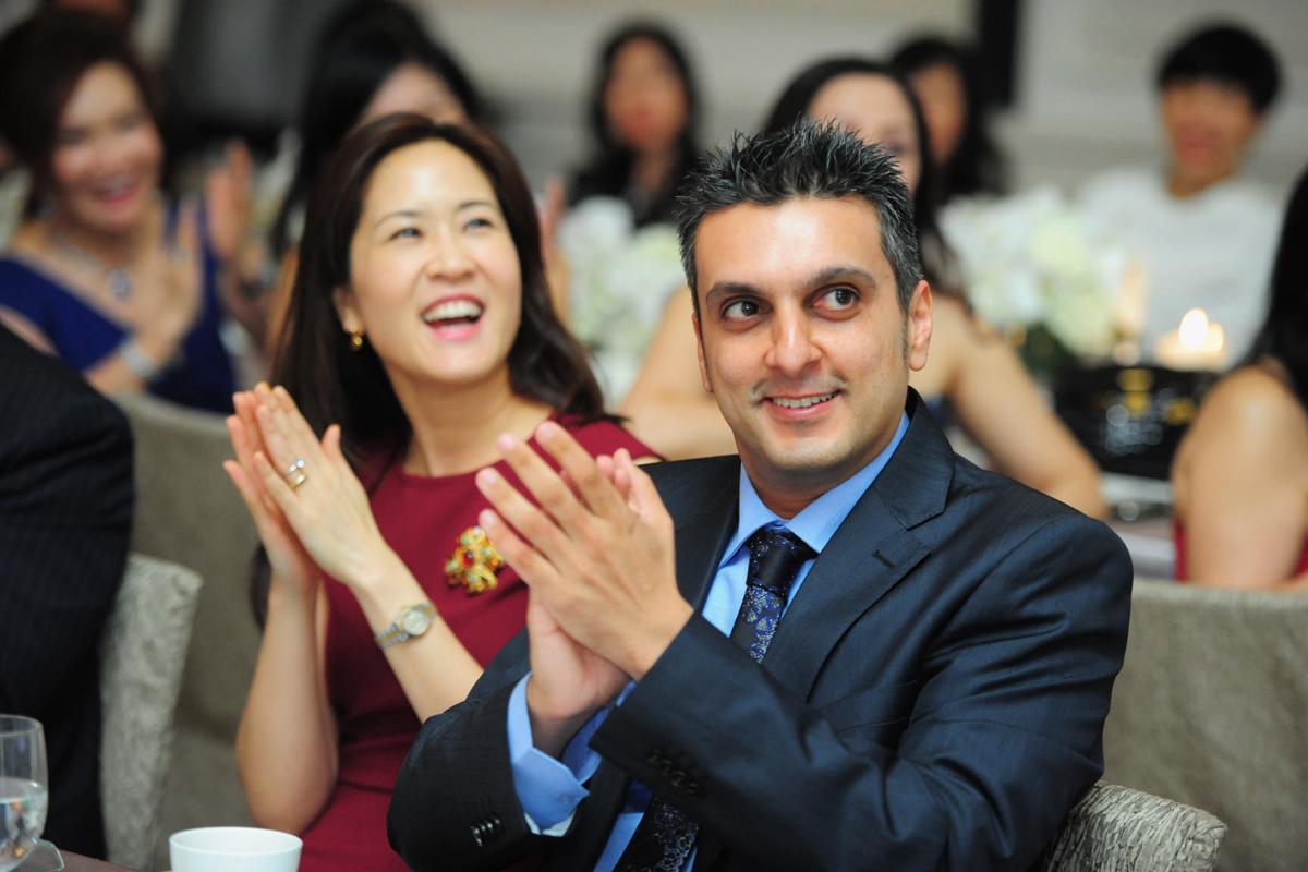 Mr Anver Ally & Dr Lynn Teo (background)
