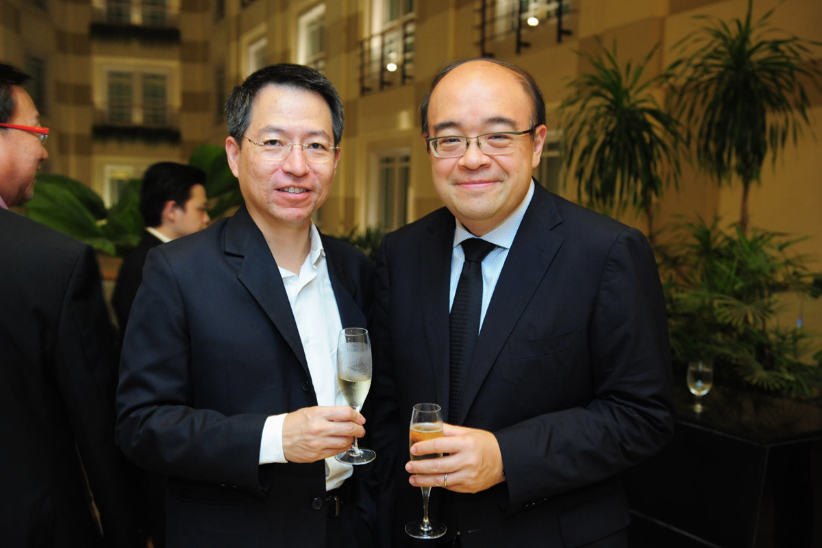 Mr Ong Tze Guan & Dr. Stanley Lai