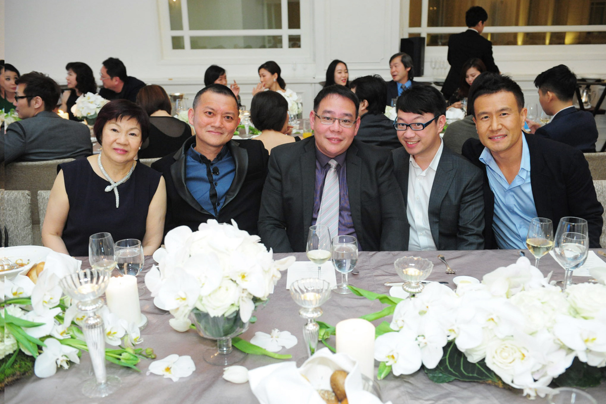 Ms Catherine Tan, Assoc Prof Steven Thng, Mr Benjamin Yap, Mr Cheong Zhaoyong, Mr Kyong Jong