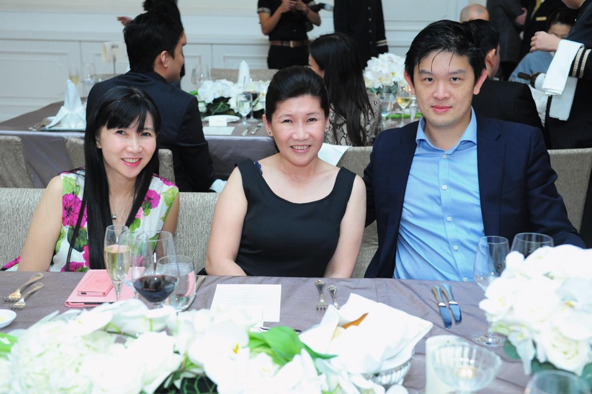 Ms Jeanette Poon, Ms Lynette Poon & Dr Kong Tze Yean