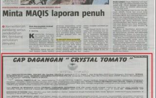 K Colly apology notice - Berita Harian (full pg scan)