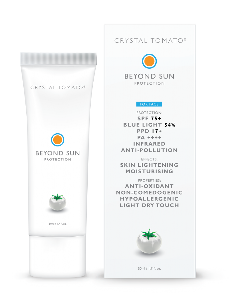 Beyond Sun Protection Cream by Crystal Tomato®