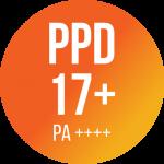 PPD 17+ / PA ++++