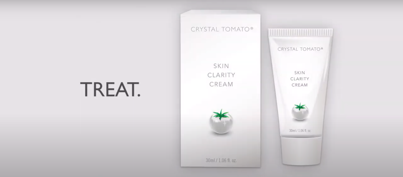 Intro Video - Crystal Tomato® oral supplements, Skin Clarity Cream and Beyond Sun Protection