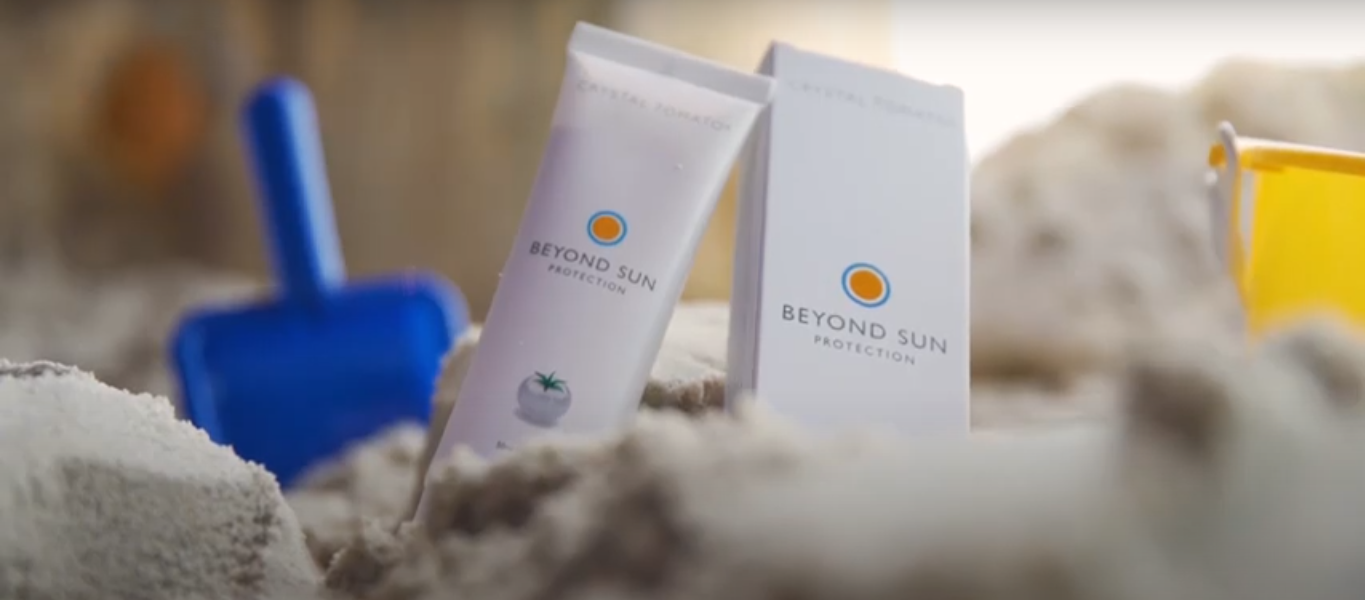 Beyond Sun Protection by Crystal Tomato® Press Launch